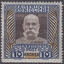Buy ÖSTERREICH AUSTRIA [1908] MiNr 0156 z ( */mh )