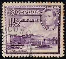 Buy Cyprus #147A Kyrenia Castle and Harbor; Used (1Stars) |CYP0147A-07XRS