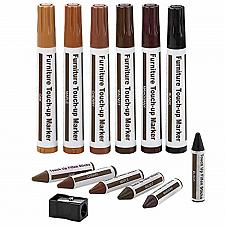 Buy Furniture Repair Kit Wood Markers - Set Of 13 - Markers And Wax Sticks With Kit,