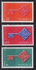 Buy MONACO [1968] MiNr 0879-81 ( **/mnh ) CEPT