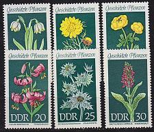 Buy GERMANY DDR [1969] MiNr 1456-61 ( **/mnh ) Pflanzen