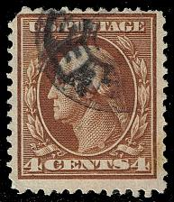 Buy US #377 George Washington; Used (2Stars)  USA0377-16