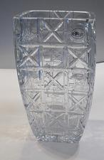 Buy Hand cut square vase Signed Peter ORourke Made in USA Mt Pleasant PA