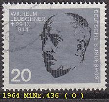 Buy GERMANY BUND [1964] MiNr 0436 ( O/used )