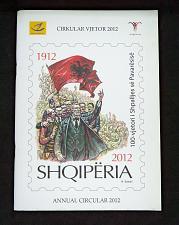 Buy Annual Circular Booklet Year 2012 of Albania Stamps. Albanian & English language