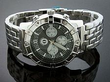 Buy Techno Watch 12 Diamond Stainless steel 47MM Watch Black face