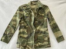 Buy Vintage havana Girls camo jacket Cotton Size L