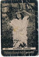 Buy Ogden's Guinea Gold Cigarettes Tobacco Card Autumn Leaves 1144 Vintage
