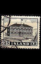 Buy ISLAND ICELAND [1952] MiNr 0277 ( O/used ) Architektur