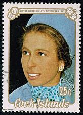 Buy Cook Islands #369 Princess Anne; CTO (4Stars) |COO0369-01XRS