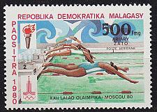 Buy MADAGASKAR MADAGASCAR [1980] MiNr 0866 ( **/mnh ) Olympiade