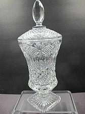 Buy Hand Cut 24% lead crystal Trophy with space for etching Award