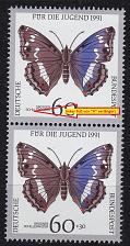 Buy GERMANY BUND [1991] MiNr 1514 F7 2er ( **/mnh ) [01] Plattenfehler