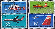 Buy GERMANY DDR [1972] MiNr 1749-52 ( OO/used ) Flugzeuge