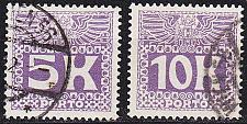 Buy ÖSTERREICH AUSTRIA [Porto] MiNr 0045-46 ( O/used )