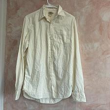 Buy Faherty Soft Organic Cotton White Shirt