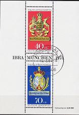 Buy GERMANY BUND [1973] MiNr 0766-0767 Block 9 ( O/used ) Wappen