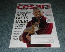 Buy Cesars Way Magazine December 2013 Issue For Cocker Spaniel Rescue Charity