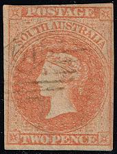 Buy Australia-South Aust. #7 Queen Victoria; Used (2Stars) |SAS007-01XVK