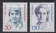 Buy GERMANY BUND [1988] MiNr 1365-66 ( **/mnh ) Frauen