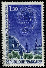 Buy France #1281 Haute Provence Observatory; Used (1Stars)  FRA1281-01XDP