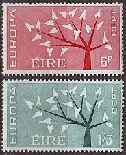 Buy IRLAND IRELAND [1962] MiNr 0155-56 ( **/mnh ) CEPT