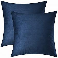 Buy Mixhug Set of 2 Cozy Velvet Square Decorative Throw Pillow Covers for Couch and