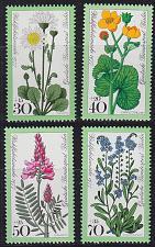 Buy GERMANY BERLIN [1977] MiNr 0556-59 ( **/mnh ) Pflanzen