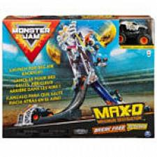 Buy Monster Jam Official Max-D Break Free Playset with Exclusive 1:64 Scale Max-D Di
