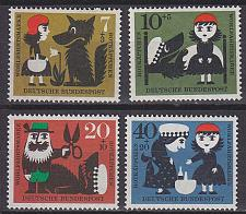 Buy GERMANY BUND [1960] MiNr 0340-43 ( **/mnh )