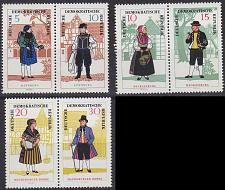 Buy GERMANY DDR [1966] MiNr 1214-19 Zdr ( **/mnh ) Trachten