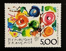 Buy 1988 France, Metamecanique, Jean Tinguely Scott 2137 Mint F/VF NH