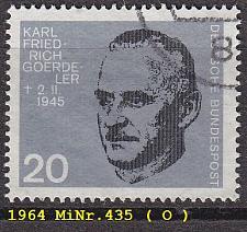 Buy GERMANY BUND [1964] MiNr 0435 ( O/used )