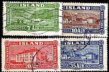 Buy ISLAND ICELAND [1925] MiNr 0114-18 ( O/used )