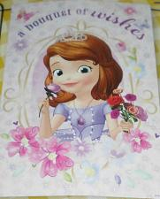 Buy Brand New Disney Sofia the First Garden Flag For Dog Rescue Charity