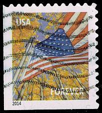Buy US #4784b Flag in Autumn; Used (3Stars) |USA4784b-03