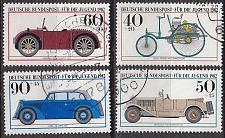 Buy GERMANY BUND [1982] MiNr 1123-26 ( O/used ) Auto