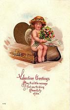 Buy Early 1900's Elegantly Embossed Historic Vintage Antique Topical Post Card #8