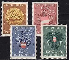 Buy ÖSTERREICH AUSTRIA [1949] MiNr 0937-40 ( **/mnh )