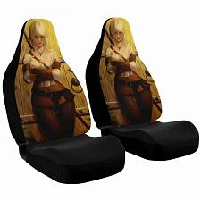 Buy Ciri Car Seat Covers Nerdy Geeky Pop Culture Set of 2 Front Seat