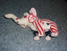 Buy Ty Beanie Baby Righty the Elephant 2000 Election For Dog Rescue Charity
