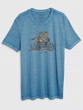 Buy Lucky Brand New Coyote Biker Tee Men`s L STYLE: 7MDG0430