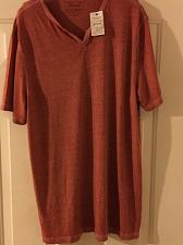 Buy Burnout Big and Tall Notch Tee Lucky Brand Size XLT New With Tag
