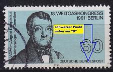 Buy GERMANY BUND [1991] MiNr 1537 F5 ( O/used ) [01] Plattenfehler