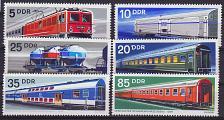Buy GERMANY DDR [1973] MiNr 1844-49 ( **/mnh ) Eisenbahn