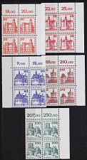 Buy GERMANY BUND [1978] MiNr 0995-99 4er ( **/mnh ) [01] Bauwerke