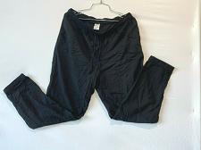 Buy Uniqlo Women pants Jogger Size L Black Rayon Pockets
