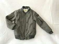 Buy Ben Sherman bomber wool blend jacket Size 5/6 zipper and buttons