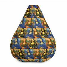 Buy Mona Lisa Graphic Print Bean Bag Chair Cover