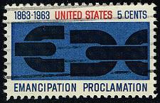 Buy US #1233 Emancipation Proclamation; Used (4Stars) |USA1233-08XRS